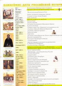 - Важнейшие даты мировой истории. Важнейшие даты российской истории обложка книги