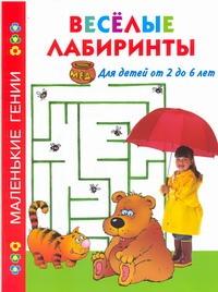 Дмитриева В.Г. - Веселые лабиринты. Для детей от 2 до 6 лет обложка книги