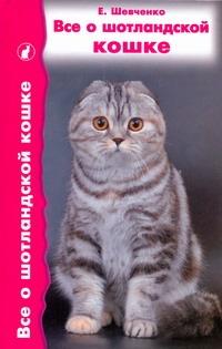 Шевченко Е.А. - Все о шотландской кошке обложка книги