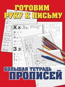 Соколов Г.В. - Готовим руку к письму. Большая тетрадь прописей обложка книги
