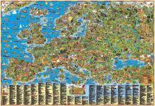 - Детская карта Европы обложка книги