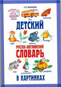 Шалаева Г.П. - Детский русско-английский словарь в картинках обложка книги