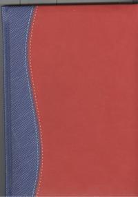 - Ежедневник н/датир.Арт.ДН14-03А Алабама Красно-синий 143х205 обложка книги