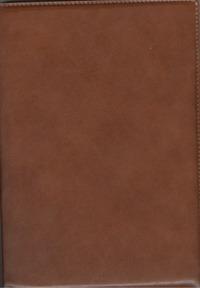 - Ежедневник п/датир.Арт.ДД16-080 Оксфорд Англ.красный 167х237 обложка книги
