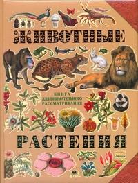 - Животные. Растения обложка книги