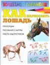 Рымарь Н.Н. - Как нарисовать лошадь обложка книги