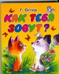 Остер Г. Б. - Как тебя зовут? обложка книги