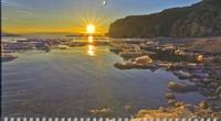 - Календарь-2013(кв.тр)Закат 01.01.305 Синий обложка книги