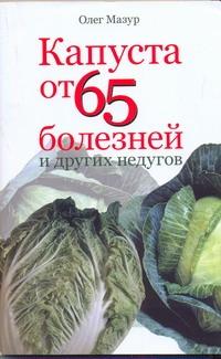 Мазур - Капуста от 65 болезней и других недугов обложка книги
