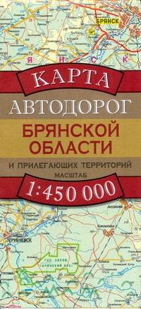 Карта Автодорог Брянской Области