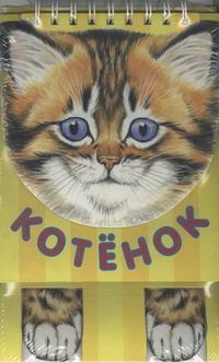 - Книжка-игрушка ПП Котенок обложка книги