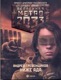 Гребенщиков А.А. - Метро 2033: Ниже ада обложка книги