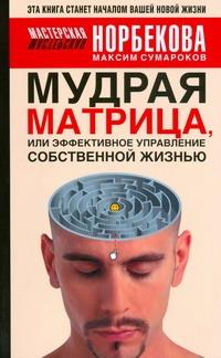 Сумароков М.Г. - Мудрая матрица, или Эффективное управление собственной жизнью обложка книги