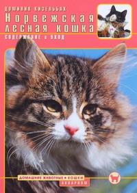 Норвежская лесная кошка : содержание и уход обложка книги