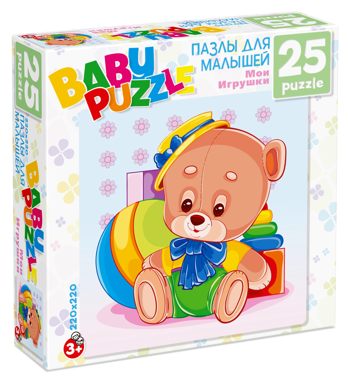 ДМ.Пазл.25А.6253 Медведь
