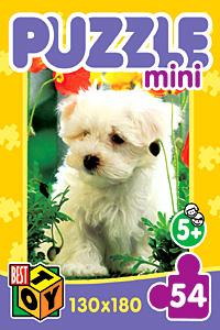 - Пазл-мини 54А.2134 Наши любимцы 4вида обложка книги