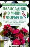 Мальцева З.Т. - Палисадник в мини-формате обложка книги