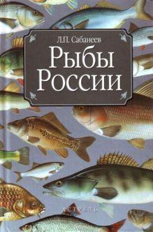 Рыбы России обложка книги