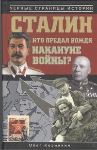 Козинкин О.Ю. - Сталин. Кто предал вождя накануне войны? обложка книги