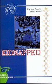 Стивенсон Р.Л. - Стивенсон Похищенный на английском языке обложка книги