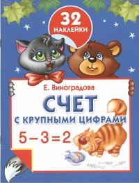 Виноградова Е.А. - Счет с крупными цифрами обложка книги
