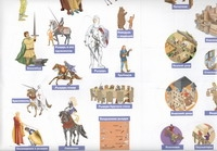 - Полуфабрикат. Рыцари, замки, сражения (наклейки) обложка книги