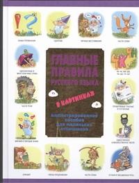 Фетисова М.С. - Главные правила русского языка в картинках обложка книги