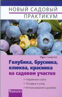 Смирнов И.Ю. - Голубика, брусника, клюква, красника на садовом участке обложка книги