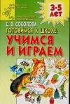 Соколова Е.В. - Готовимся к школе. Учимся и играем обложка книги