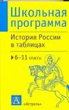 Агафонов С.В. - История России в таблицах. 6-11 классы обложка книги