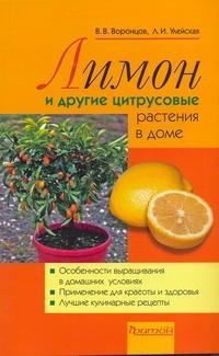 Лимон и другие цитрусовые растения в доме Воронцов В.В., Улейская Л.И.