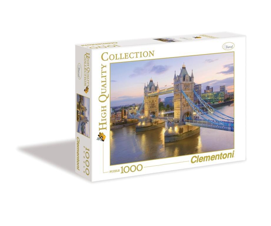 CLem.Пазл. 1000эл. HQ.39022 Лондон, Тауэрский мост (n) от book24.ru