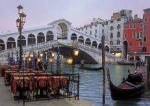 - CLem.Пазл. 1500эл. HQ.31982 Венеция, Ресторан у моста Риальто (n) обложка книги