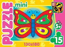 Пазл-мини 15А.2003Мои игрушки/1 4вида Домик