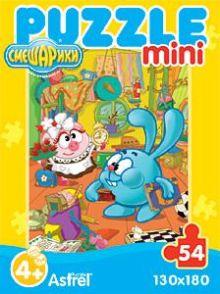 - Смешарики Пазл-мини 4342 Смешарики 1/4вида обложка книги