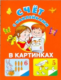 Виноградова Е. - Счет с наклейками обложка книги