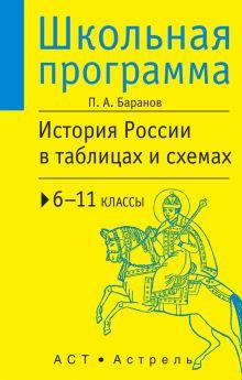 Баранов П.А. - История России в таблицах и схемах : 6-11 классы обложка книги