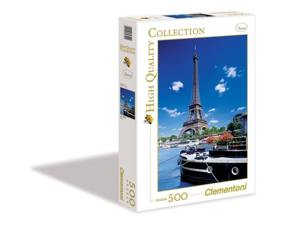 CLem.Пазл. 500эл.HQ.30302 Париж, Вид на Эйфелевую башню