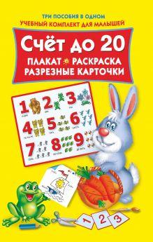 Двинина Л.В. - Счет до 20. Плакат, раскраска, разрезные карточки обложка книги