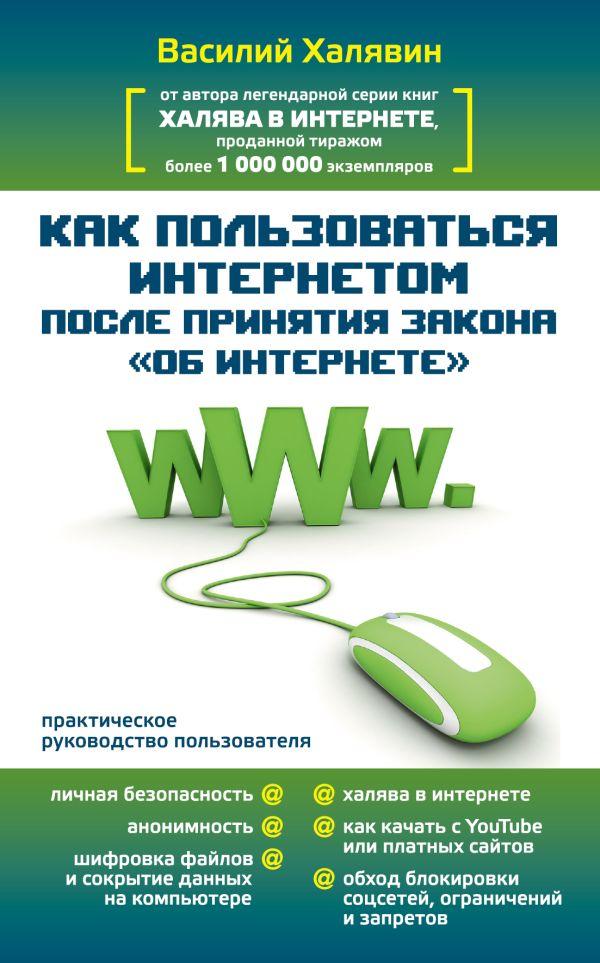 """Как пользоваться Интернетом после принятия закона """"Об Интренете"""" Халявин Василий"""
