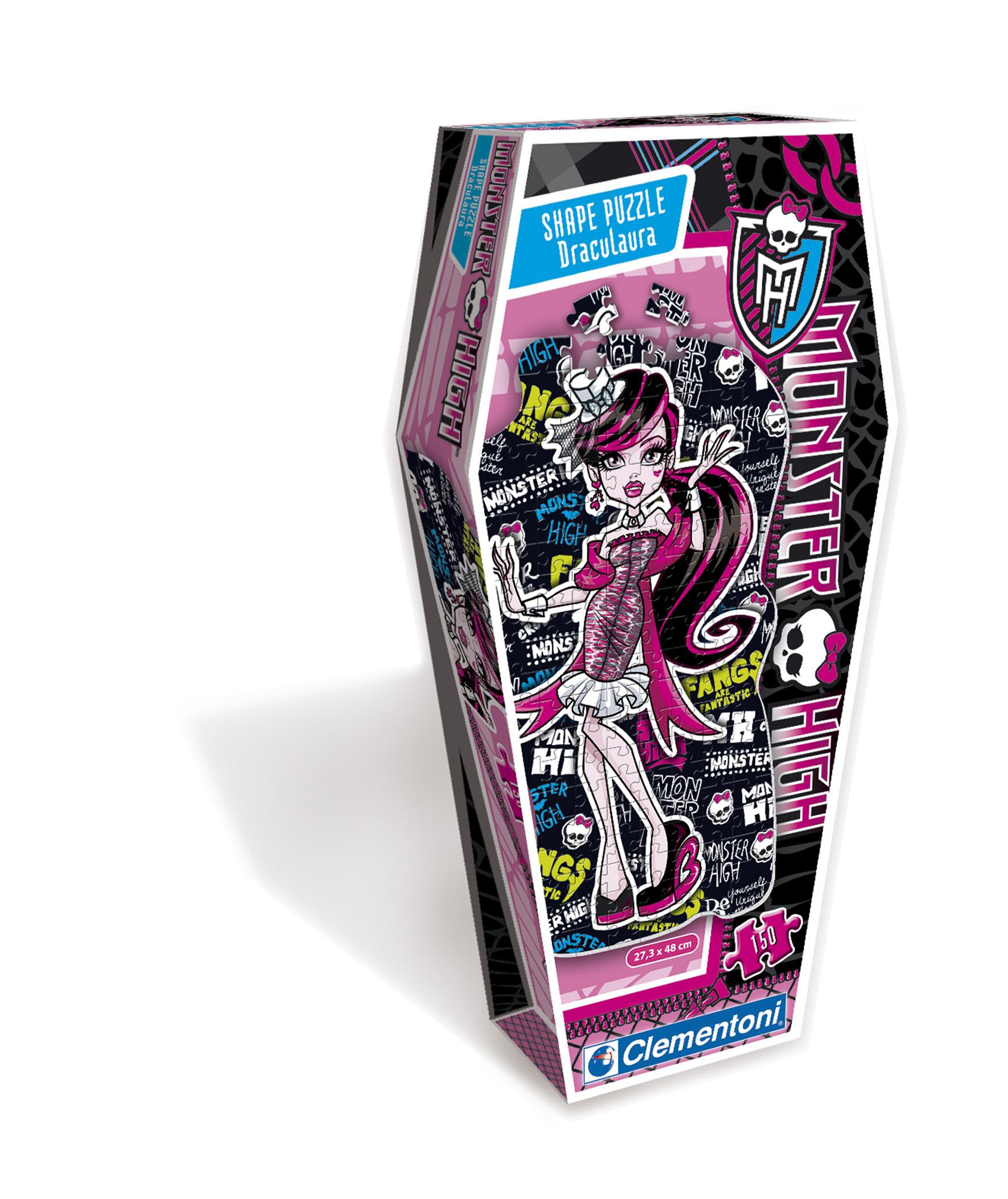 CLem.Monster High.Пазл. Фигурный.150эл.27534 Дракулаура
