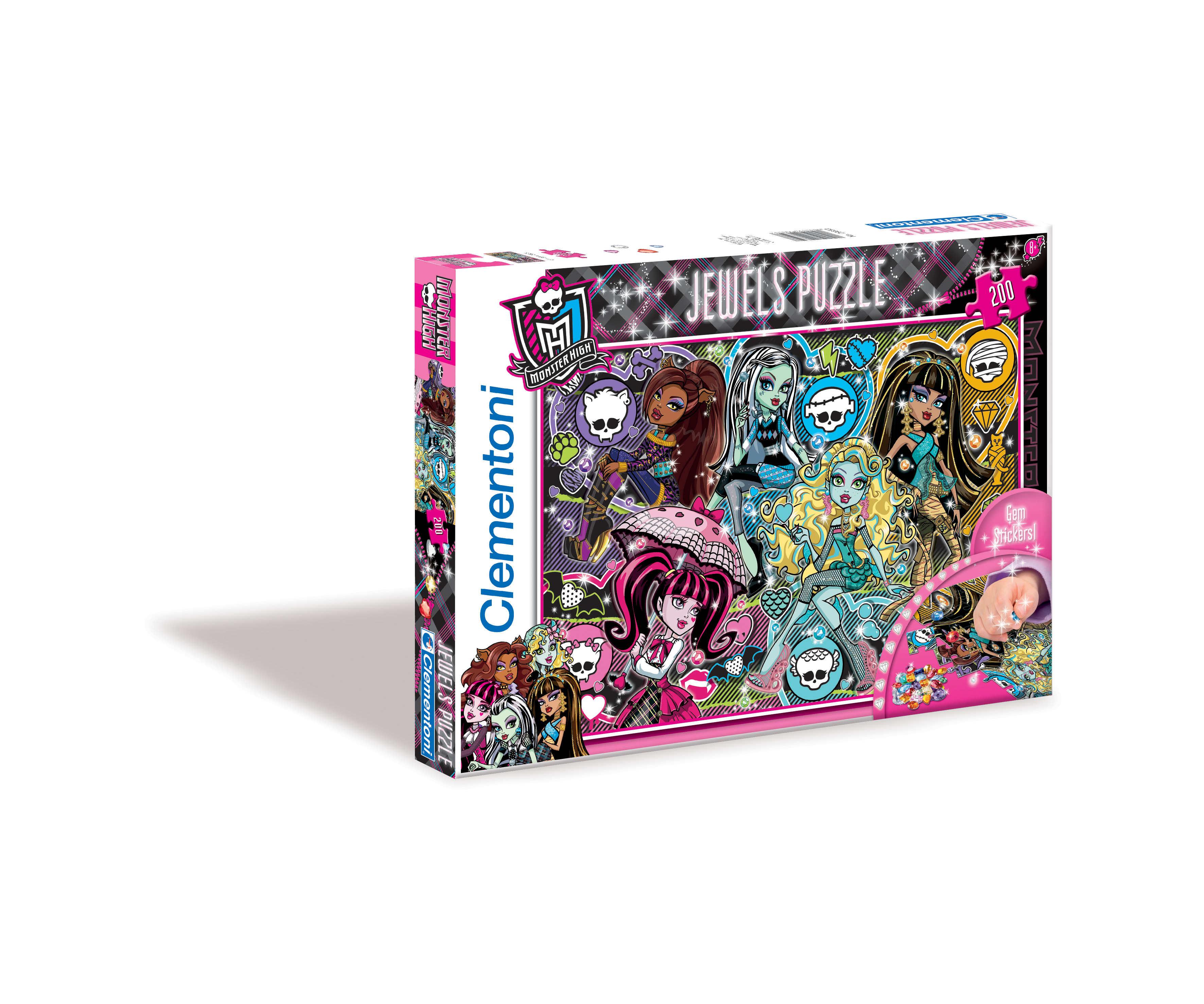 CLem.Monster High.Пазл. Стразы.200эл.29650 Модные и яркие