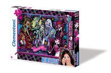 - CLem.Monster High.Пазл. 104эл. 3Д 20075 Школа Монстров обложка книги