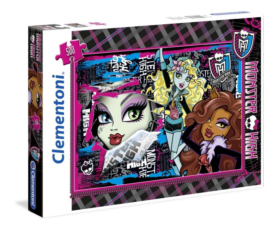 CLem.Monster High.Пазл. 500эл.30385 Чудовищные друзья