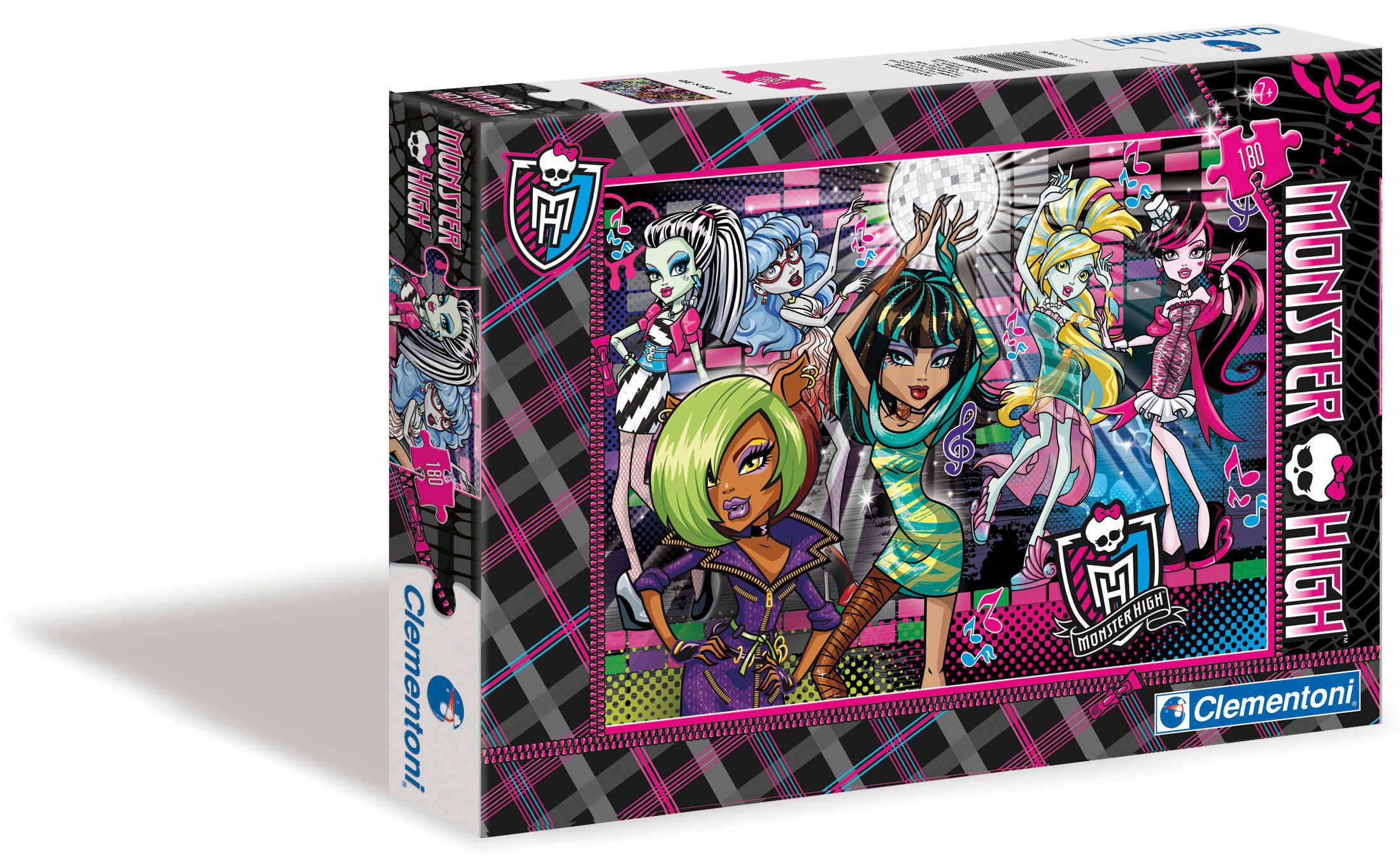 CLem.Monster High.Пазл.Спецкол.180эл.07310 Незабываемая вечеринка
