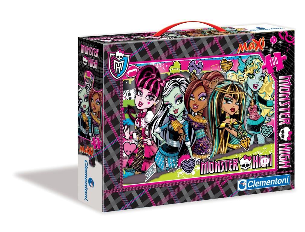 CLem.Monster High.Пазл.Спецкол.100эл.Макси. 07505 Жутко красивые