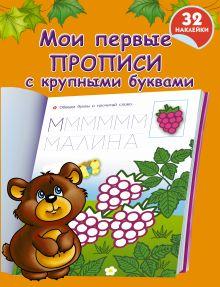 Дмитриева В.Г. - Мои первые прописи с крупными буквами обложка книги