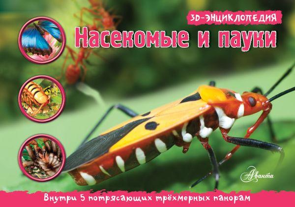 Насекомые, пауки, многоножки. 3D панорама