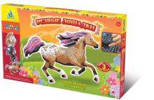 - K.Orb.Мозаика-набор Дикие лошади (3 шт.) арт.00400 обложка книги