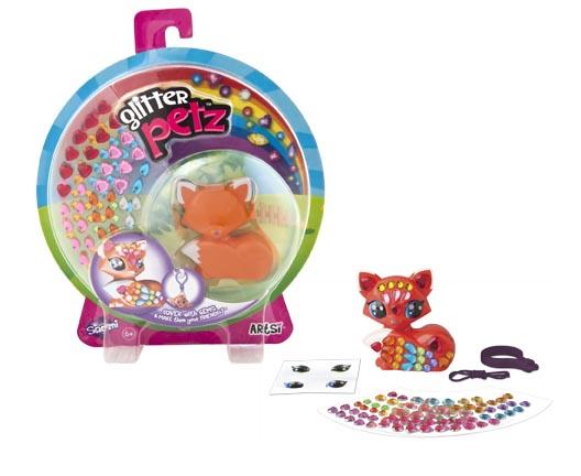 K.Orb. Glitter Pets Мозаика-фигурка животного в асс-те арт.00427